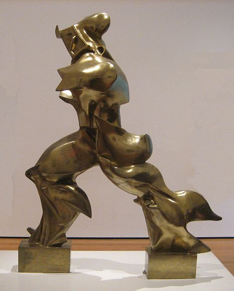 Umberto Boccioni - Unique Forms of Continuity in Space