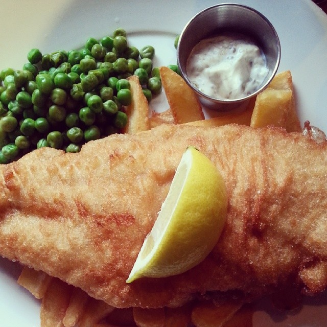 Fish&chips in London