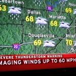 Tornado tuli kylään