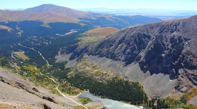 Coloradon Fourteenerit eli vähintään 4267 metriä korkeat vuoret