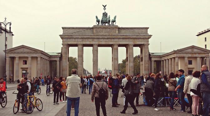 Brandenbourgin portti, Berliini