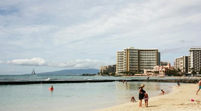 Waikiki Beach & Hyatt Place – ranta ja hotelli Honolulussa