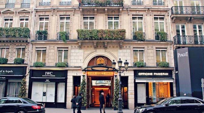 Uskomaton luksushotelli: Park Hyatt Paris