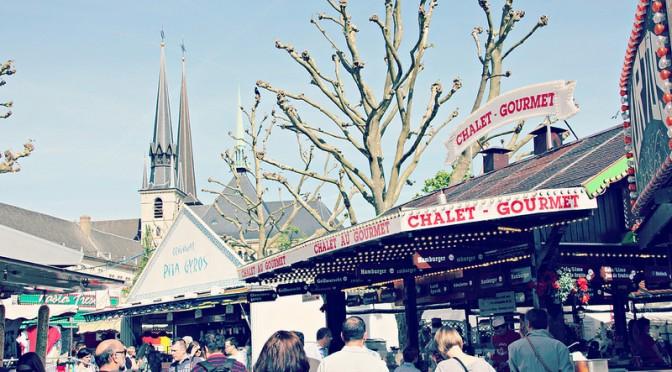 Octave-pyhiinvaellusmarkkinat Luxemburgissa