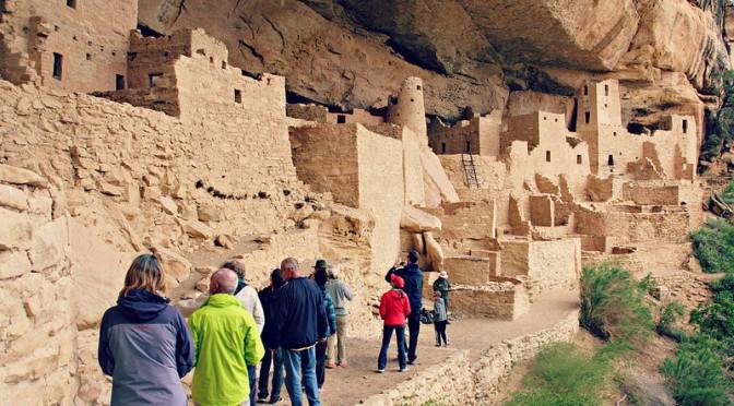 Mesa Verden kansallispuisto: intiaanien asumuksia ja jylhiä kanjoneita