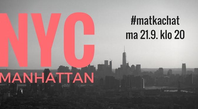 New York -vinkit – #matkachat kooste!