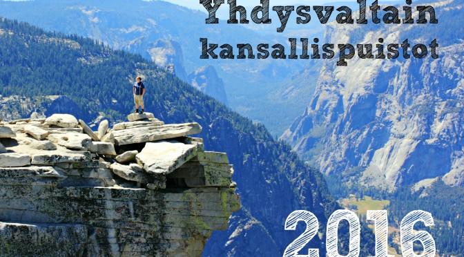 Tilaa seinäkalenteri USAn kansallispuistoista!
