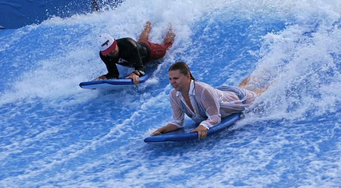 Surffauksen sietämätön vaikeus ja tasapainon puute