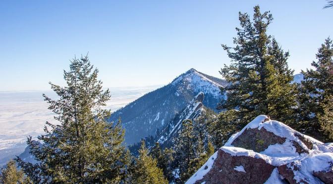Mitä opin talvivaeltamisesta Boulderin huipuilla