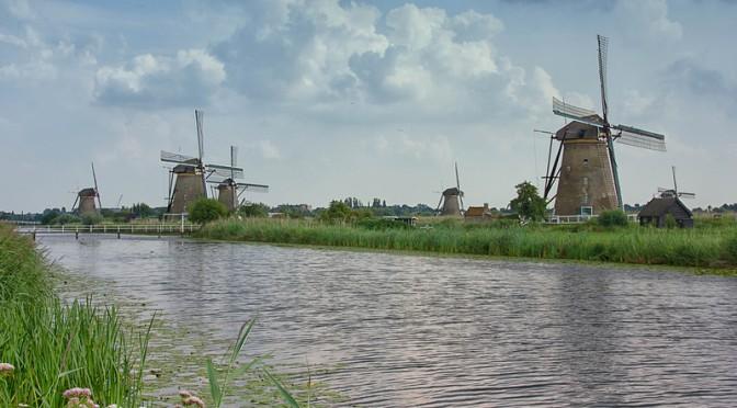 Kinderdijk: Hollannin kauneimmat tuulimyllyt